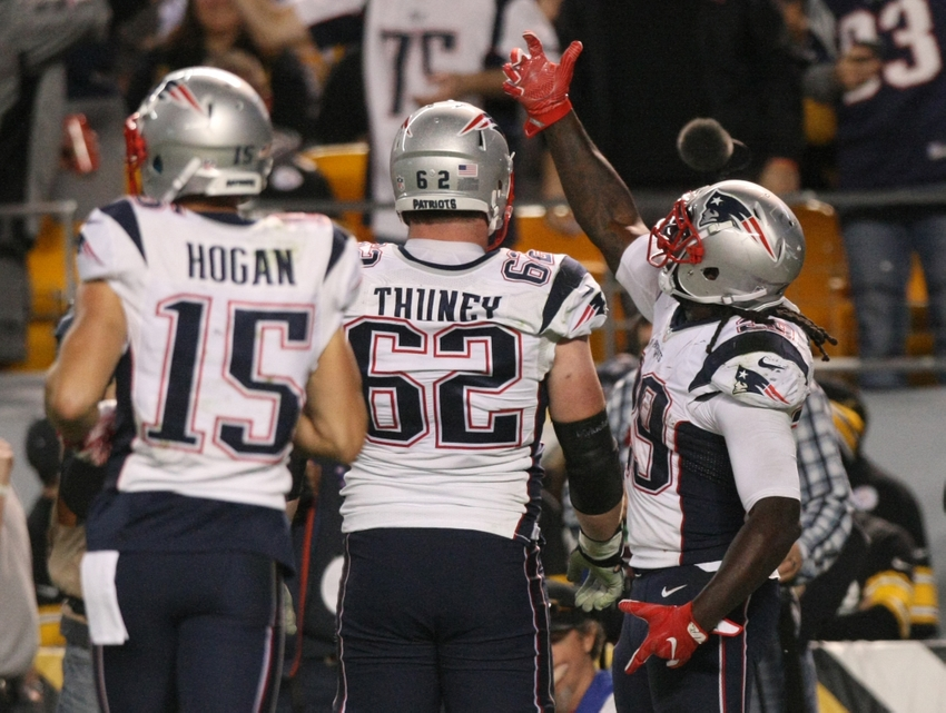 ad87f7e20ed New England Patriots atop AFC Power Rankings entering Week 8
