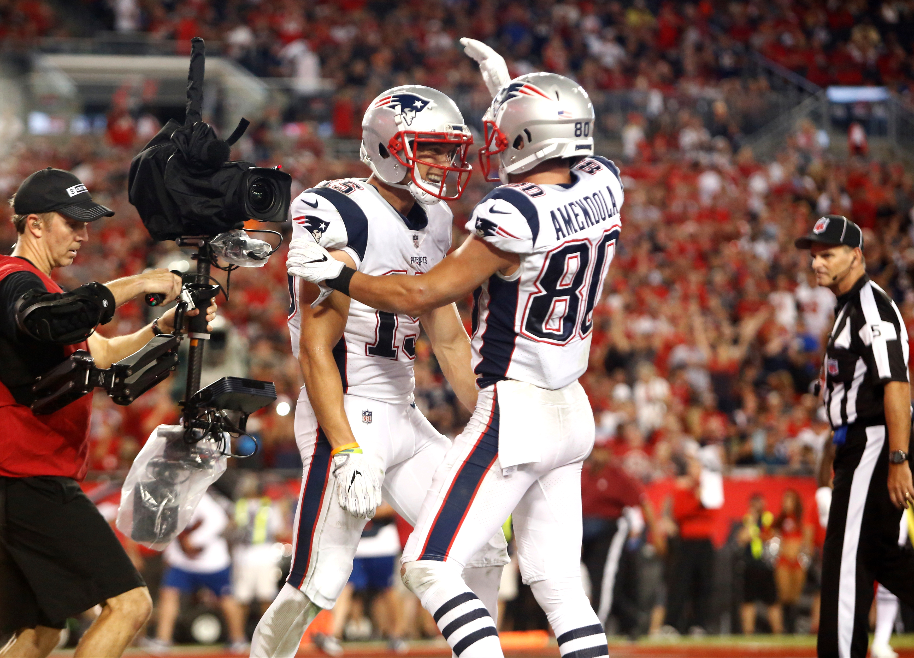 Image result for patriots win over tampa bay