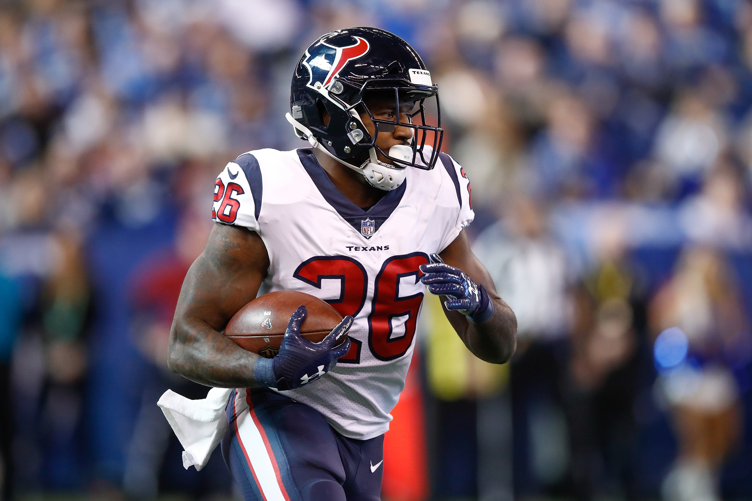 Patriots: Lamar Miller surprise release answers many backfield ...